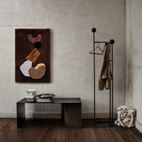 ferm LIVING - Pujo Coat Stand - Sort metal m. Ask - H175 cm
