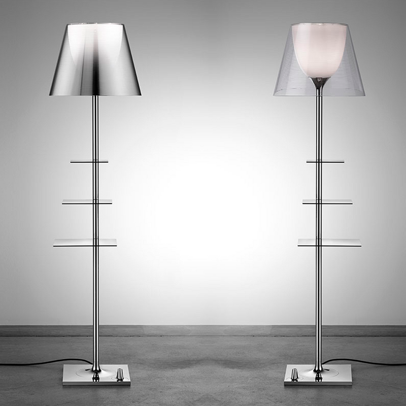 Flos - Bibliotheque Nationale - Gulvlampe - Smoked - H154 cm