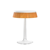 Flos - Bon Jour - Bordlampe - Transparent m. hvid top