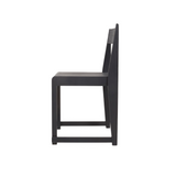 Frama - Chair 01 - Spisebordsstol - Sort ask