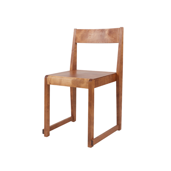 Frama - Chair 01 - Spisebordsstol - Warm Wood
