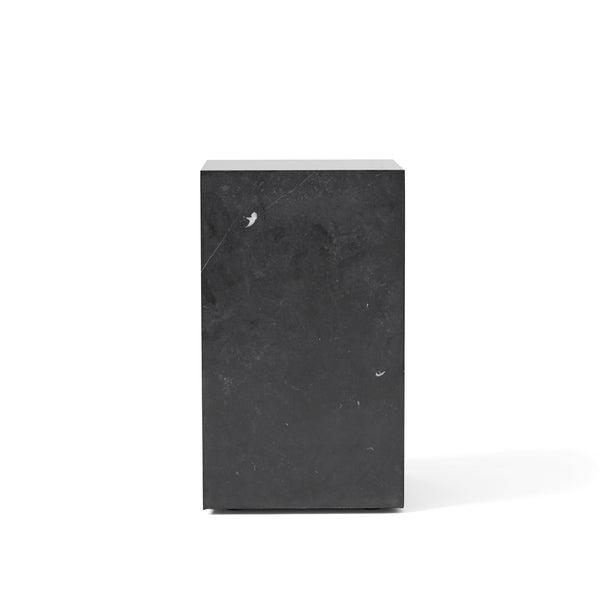 Menu - Plinth Tall - Podium - Sort Marquina Marmor