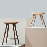 Mater - High Stool - Sort bøg