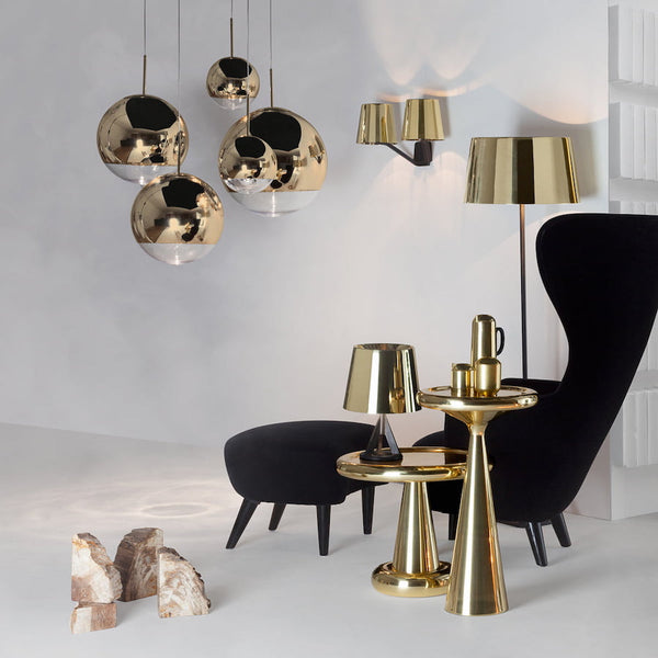 Tom Dixon - Mirror Ball - Pendel - Gold - Ø40 cm