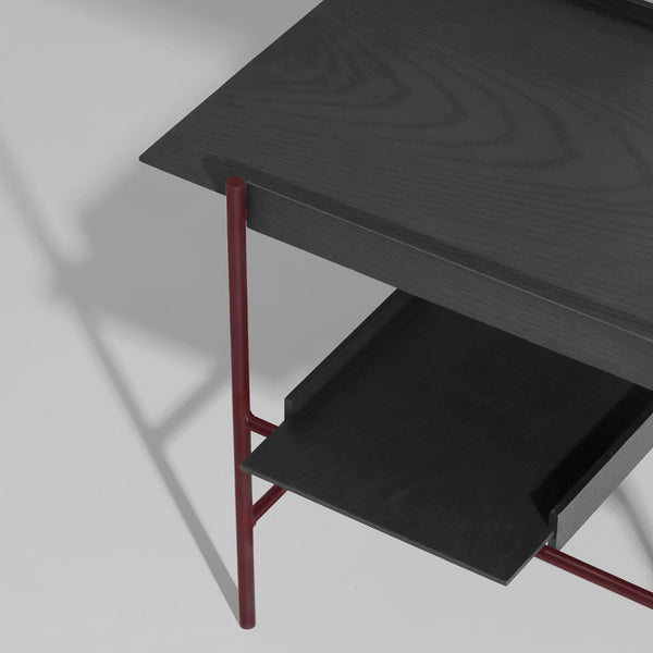 PWTBS - Kanso Tray Table - Bakkebord - Sort/Fig Purple