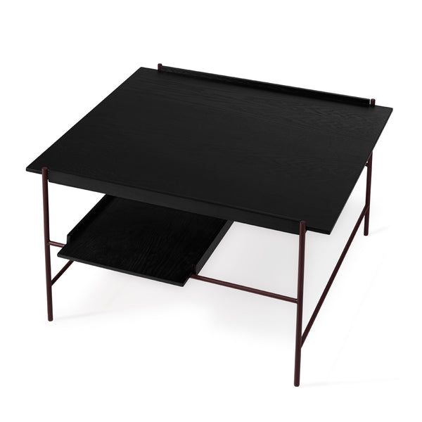 PWTBS - Kanso Coffee Table - Sofabord - Sort/Fig Purple