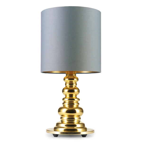Design by Us - Punk Deluxe - Gold/Grey - Bordlampe