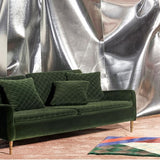 ;Very Fat B**** Sofa, Green Velvet - Design by Us;;