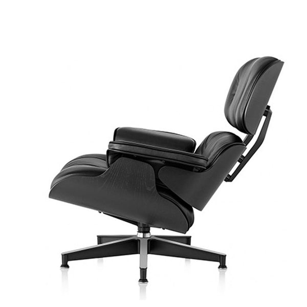 Vitra - Eames Lounge Chair - Ask/Premium læder - Black ed.