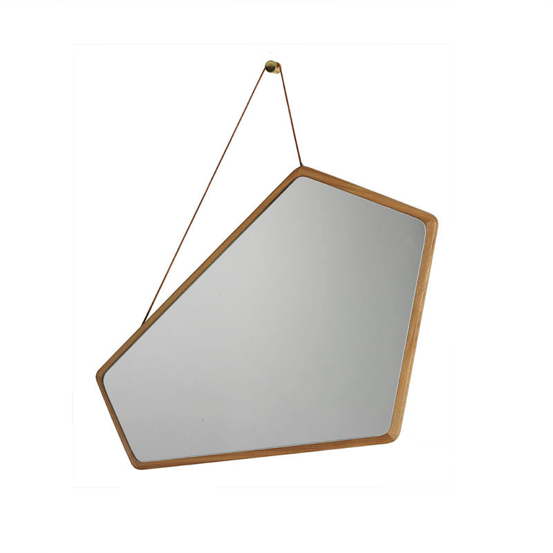 Design By Us -  Ego Mirror - Spejl - Natur Eg