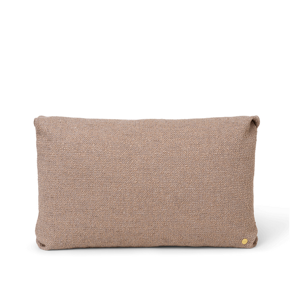 ferm LIVING - Clean Cushion - Boucle - Offwhite/Sand