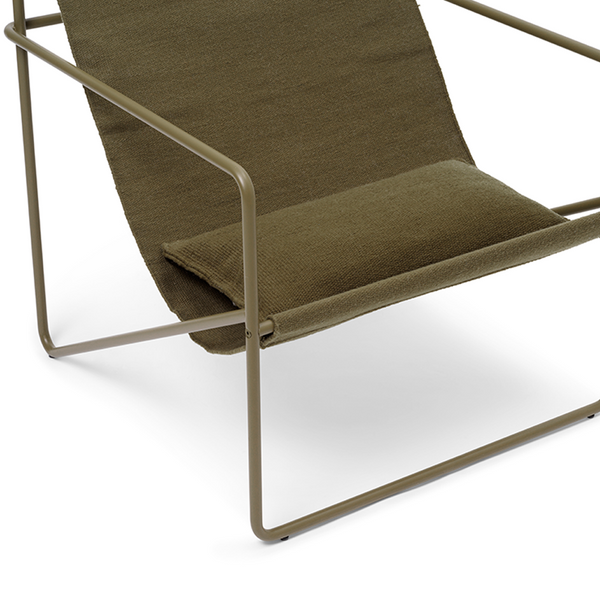 ferm LIVING - Pude Desert Chair - Olive
