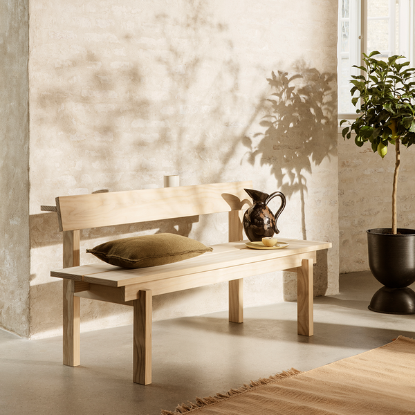 ferm LIVING - Pude Desert Chair - Sugar Kelp