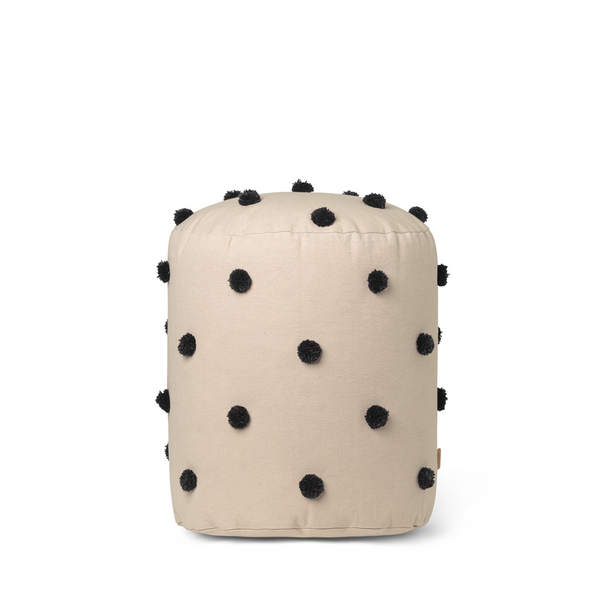 ferm LIVING - Dot Pouf - Sand