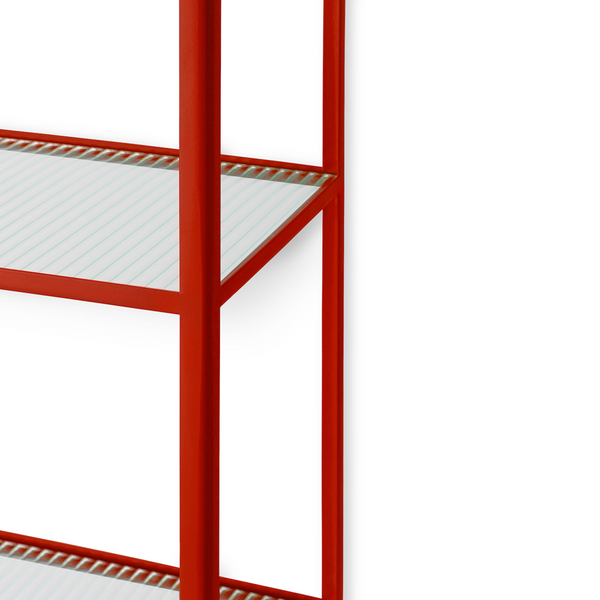 ferm LIVING - Haze Bookcase - Reol - Poppy red