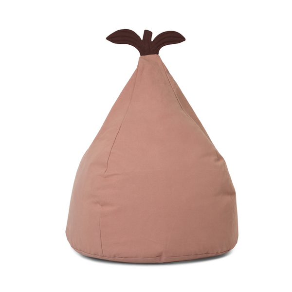 ferm LIVING - Pear - Sækkestol - Dusty rose