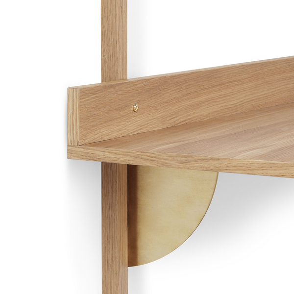 ferm LIVING - Sector Desk Section - Eg m. messing