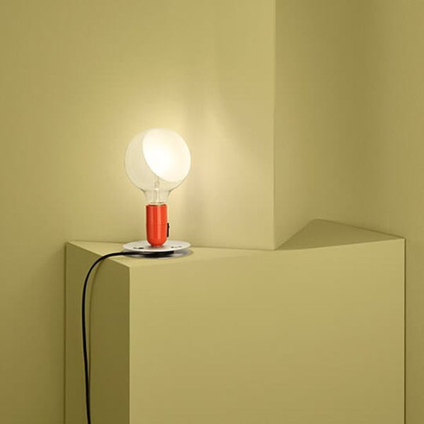 Flos - Lampadina - Bordlampe - Orange - H24 cm