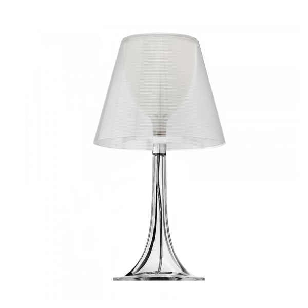 Flos - Miss K - Bordlampe - Transparent - Ø16 cm