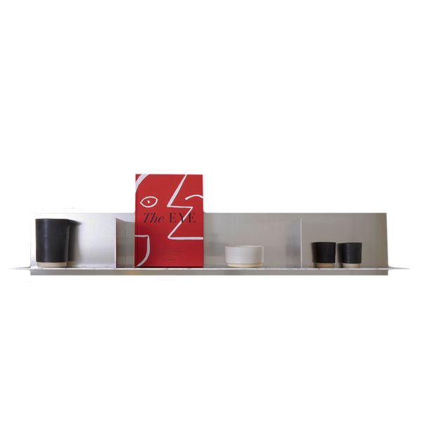 Frama - Rivet Shelf Large - Aluminium - L119 cm