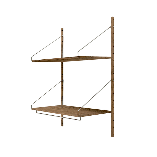 Frama - Shelf Library H1148 Hanger Section - Reol - Mørk eg