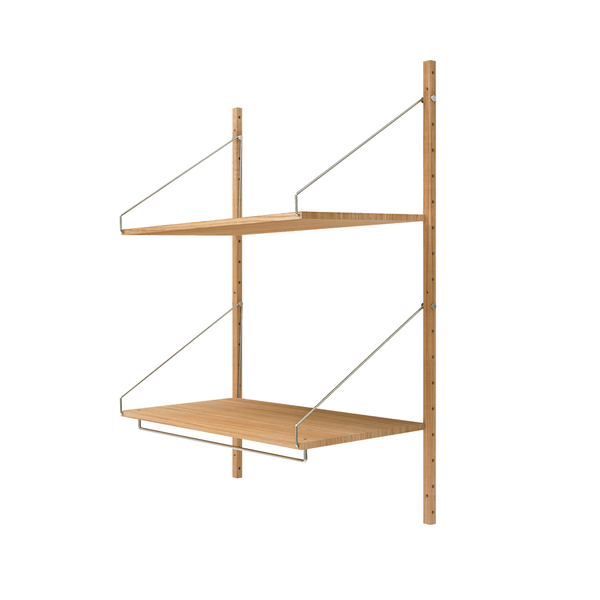 Frama - Shelf Library H1148 Hanger Section - Reol - Natur eg