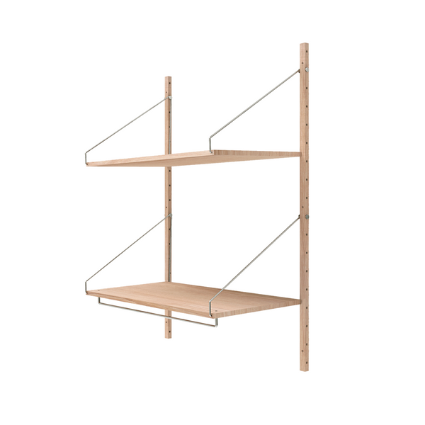 Frama - Shelf Library H1148 Hanger Section - Reol - Hvid eg