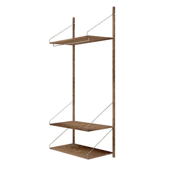 Frama - Shelf Library H1852 Hanger Section - Reol - Mørk eg