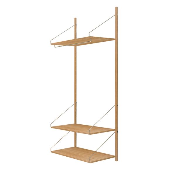 Frama - Shelf Library H1852 Hanger Section - Reol - Natur eg
