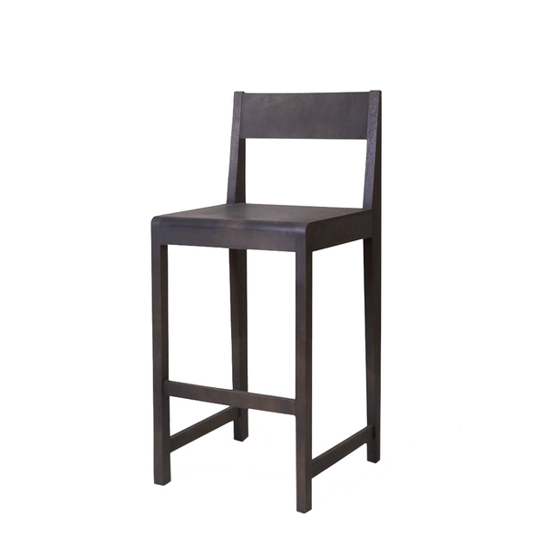 Frama - Stool 01 - Barstol - Sort ask