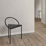 Frama - Triangolo Chair - Sort stål