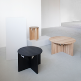 Kristina Dam Studio - Table - Sort eg - Ø52 cm