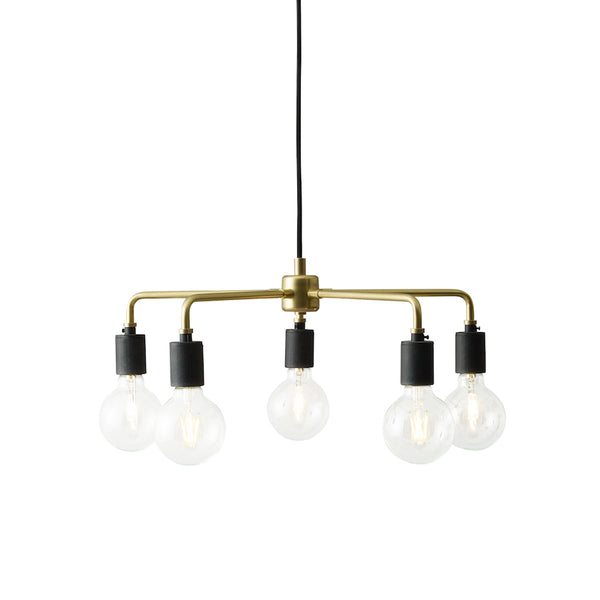 Menu - Leonard Chandelier - Messing - Ø46 cm