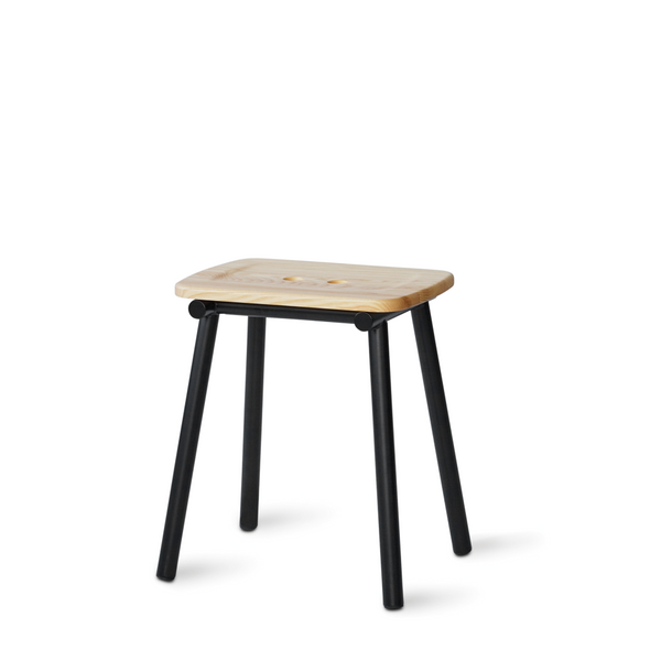 PWTBS - Tubby Tube Stool - Skammel - Ask - H45 cm