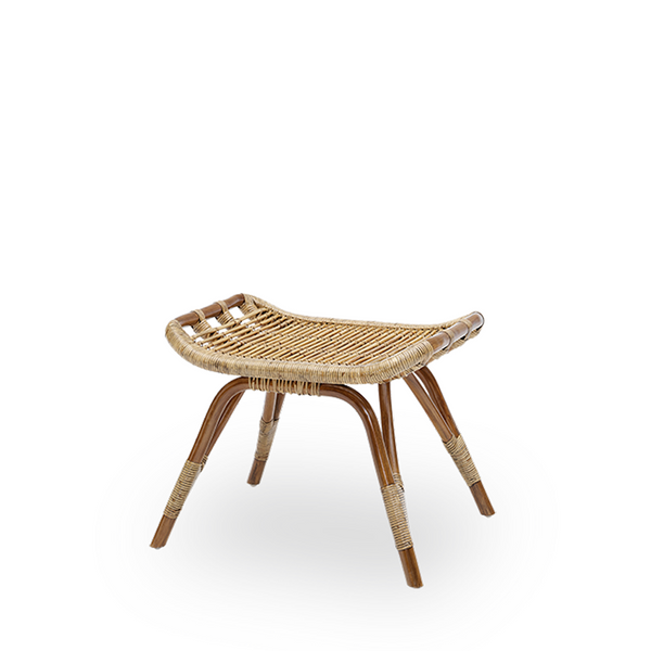 SIKA DESIGN Interior - Monet - Fodskammel - Antique Rattan