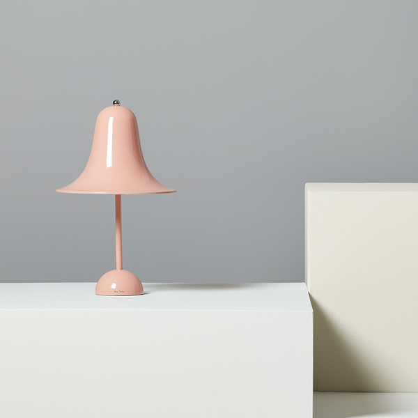 Verner Panton - PANTOP - Bordlampe - Dusty Rose - H38 cm