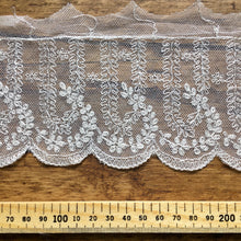 Load image into Gallery viewer, Ivory Antique Style Embroidered Lace