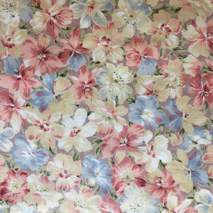 Pretty Vintage Floral Cotton 2.7m