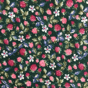 Green Ditsy Floral Cotton Fabric 1.65m