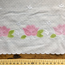 Load image into Gallery viewer, Watercolour Tulip Embroidered Trim