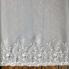 Load image into Gallery viewer, Ivory Embroidered Georgette Trim