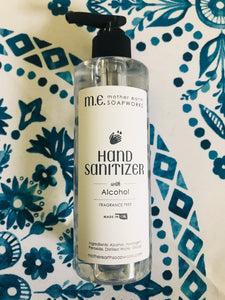 Hand Sanitizer with Alcohol 8 ounces with pump - Wholesale