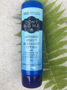 """Don't Bug M.E."": Natural Insect Repellant Lotion - 12 Bottles - Wholesale - 50% Margin"