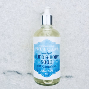 Free & Clear Fine Liquid Hand and Body Soap - 50% Profit Margin - Wholesale