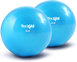 Yes4All Soft Weighted Toning Ball/Medicine Ball