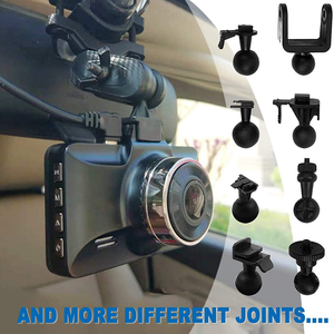 Dash Cam Mount, Anumit Universal Dash Camera Rear View Mirror Mount Holder Kit for YI, Rexing, APEMAN, Roav by Anker, Aukey, Vantrue, Crosstour, VAVA, KDLINKS X1 and Most Car Camera, Car Recorder, GPS