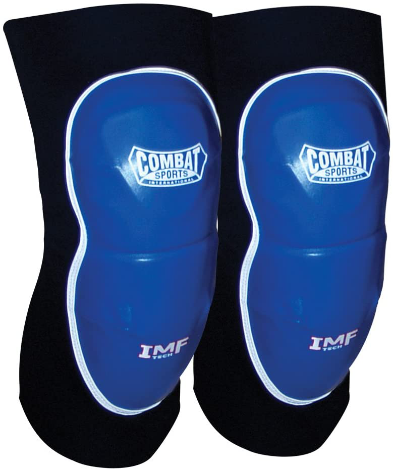 Combat Sports MMA Advanced Imf Tech Striking Elbow Pads (Blue-Black)