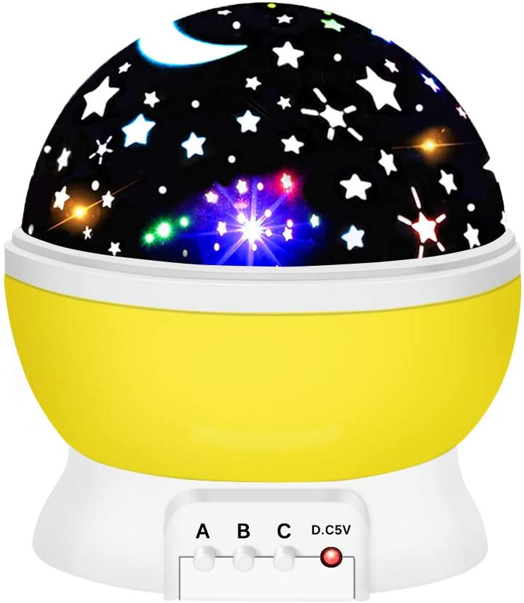 ROKY Star Night Light for Kids New Projector lamp for Bedroom-Best Gifts