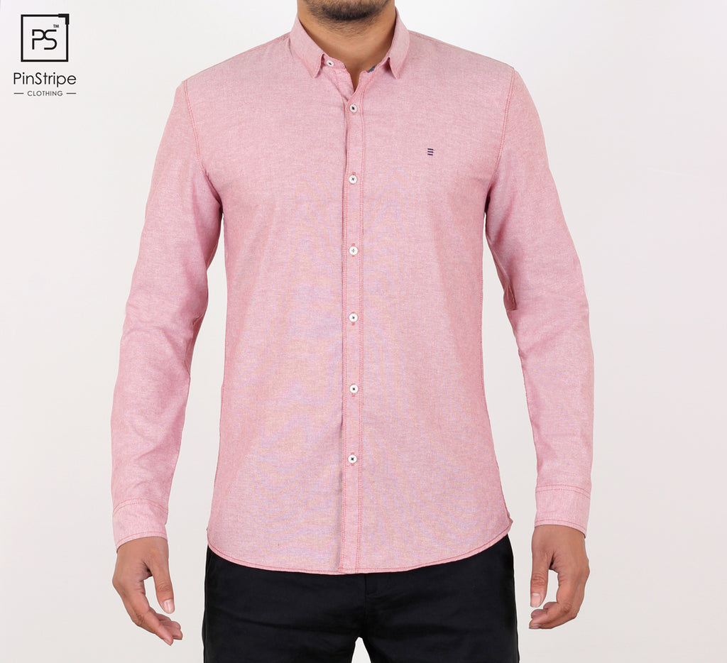 Crepe Pink - Oxford Casual Shirt