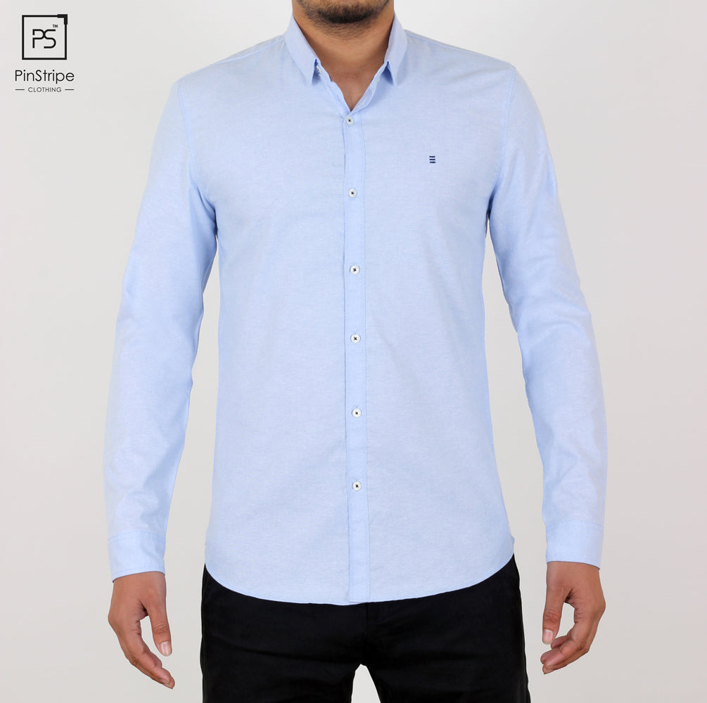 Cupcake Blue - Oxford Casual Shirt